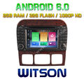 WITSON Octa-Core(Eight Core) Android 6.0 CAR DVD FOR MERCEDES-BENZ S CLASS 2G ROM 1080P TOUCH SCREEN 32GB ROM