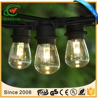commercial waterproof E27 outdoor patio string light for christmas holiday wedding decoration