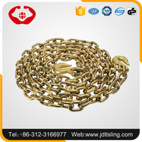 Safety factor 4:1 welded short link chain with standard EN818-2