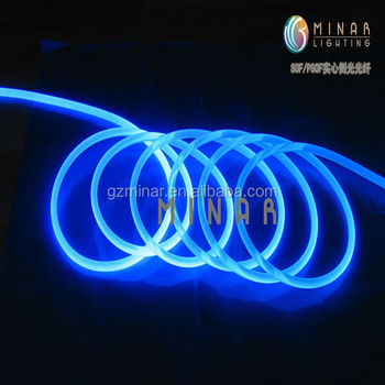 china supplier single mode side glow optic fiber cable price list