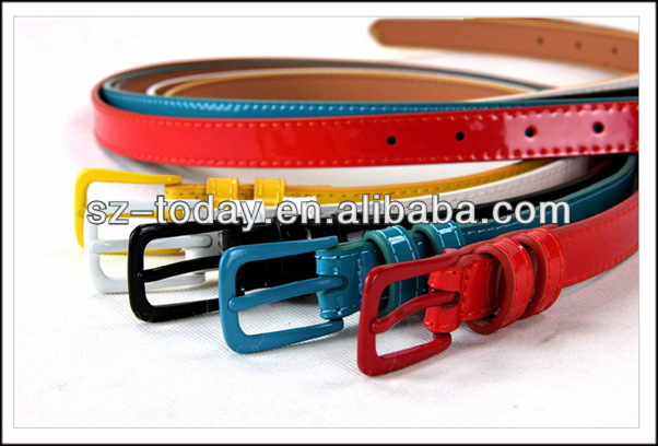 Candy color Beauty fashion dress belts made in China