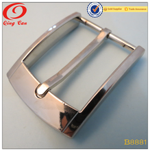 34mm men square fashion wholesale metal pin buckle for belt