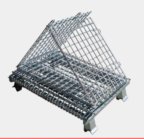 Collapsible Wire Rolling Storage Cage