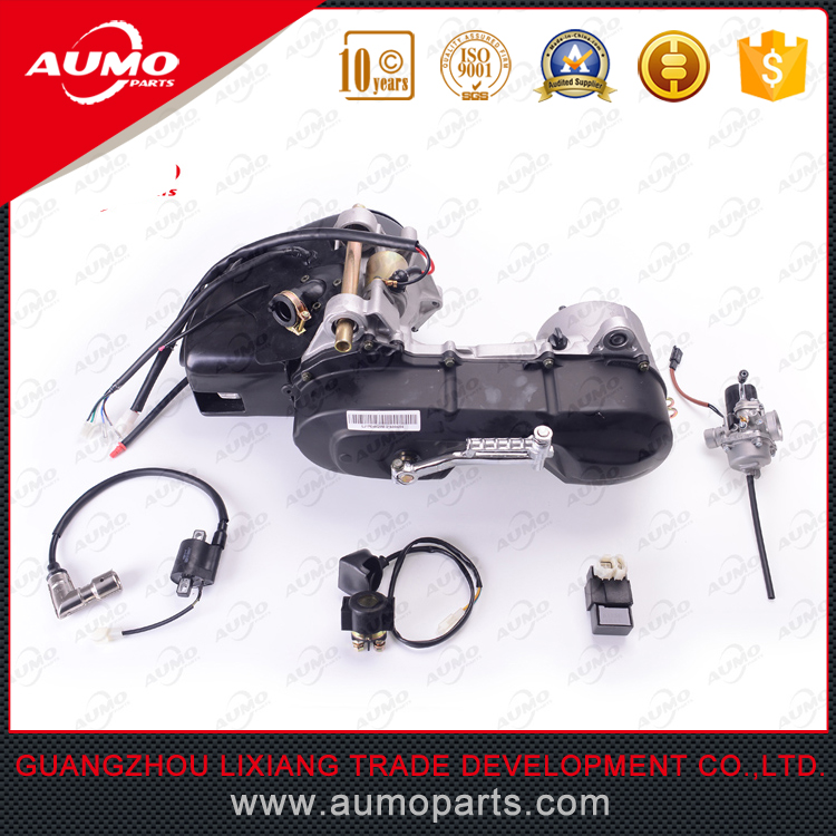 High quality 50cc scooter 2 stroke engine Keeway motorcycle parts JOG 50 1PE40QMB