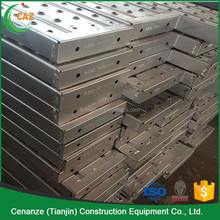 adjustable scaffold punched plank construction scaffolding for bridge