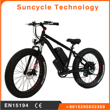 Hot selling colorful powered electric bicycle/ebike/ electric bike 48v 500w fat tire