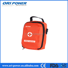 OP wholesale CE FDA ISO approved orange portable burns first aid kit