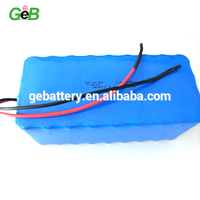 12v 30Ah solar street light storage lithium ion battery packs
