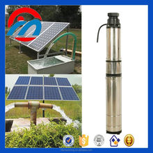 deep well DC submersible solar powered irrigation water pump for irrigation and agriculture