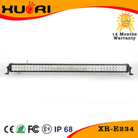 234w Cre e Double Row Led Car Light Bar for Offroad/Trucks/Suv Cars