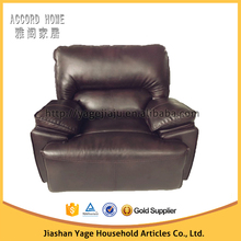 Factory direct Living room furniture design future TOP leather recliner sofa