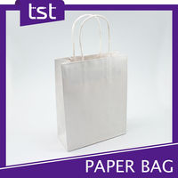 Bespoke Paper Grocery Bags with Handles