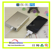 Blueendless Aluminum Case Lithium 18650 Samsung Battery Power Bank
