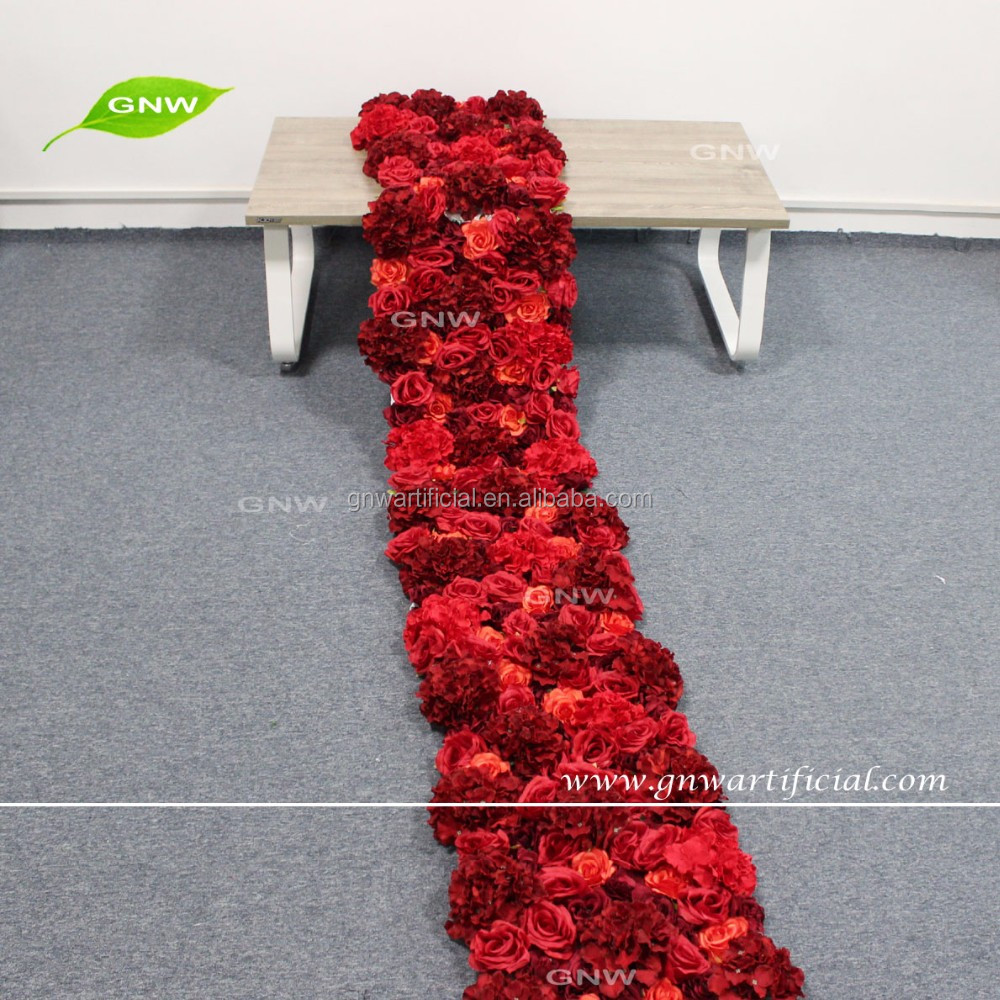 GNW FLW1603001-7FT large artificial hanging flower halo for wedding backdrop