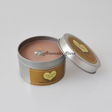 Apple Pie Soy Wax Travel Metal Tin Candle