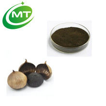 ISO manufacturer Black Garlic Extract/Pure Black Garlic Powder/ Natural Black Garlic P.E.