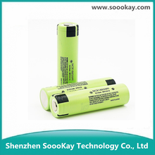 High Quality 3.7V 2900mAh 18650 Li ion Rechargeable Battery with Max. 10A Discharge for Flashlight