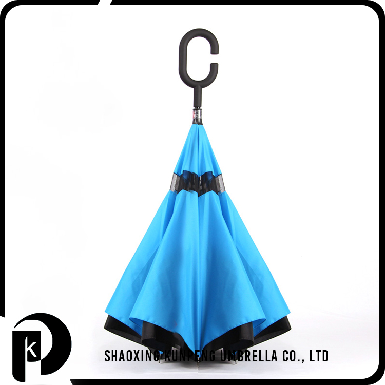 Uv Protection New Style Windproof Reverse Open Inverted Umbrella