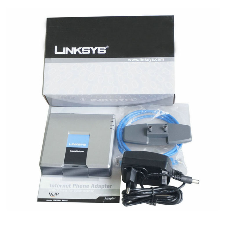 Linksys pap2t-na Unlocked Voip adapter with New price