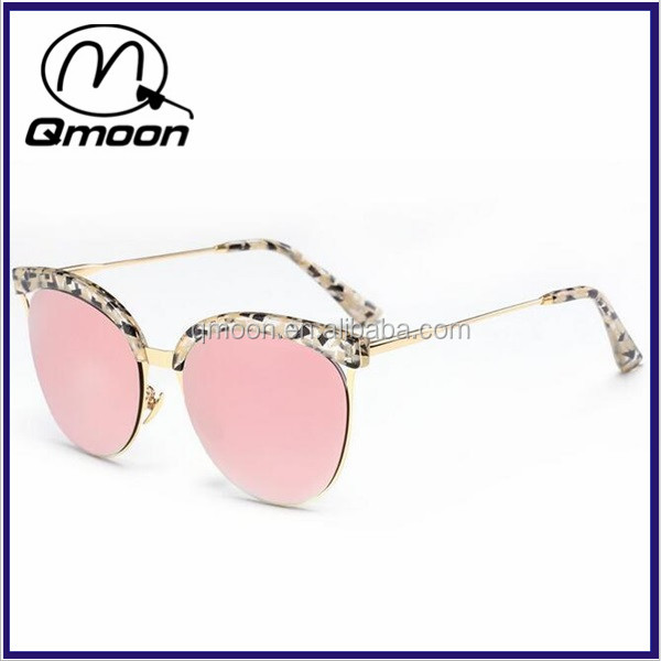 Custom LOGO aviator sunglasses shades eyewear sunglasses women