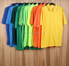 Top quality breathable men's mesh fabric polo shirt for running
