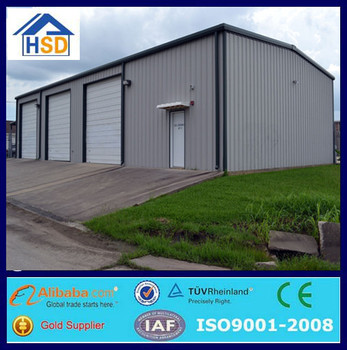 cheap prefabricated light steel structure warehouse workshop for sale