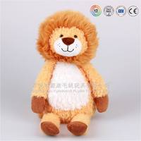 baby toy lovely animated fluffy stuffed lion baby plush toy