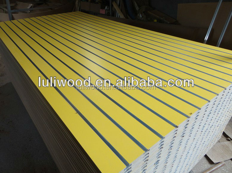 12mm 18mm slot mdf board for kitchen cabinet