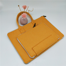 Hot Selling Polyester Felt 17.5 inch Laptop Bag For Teenage Girls