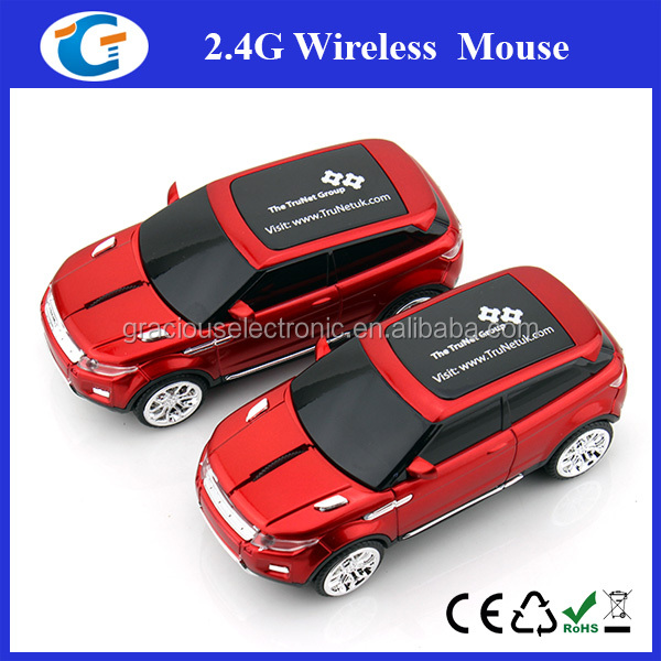 3D Optical Wireless Mini Car Shaped Mouse Mice For Home Office Use