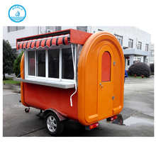 Fry ice cream machine cart trailer/Mobile Kitchen/Catering Food Trailer