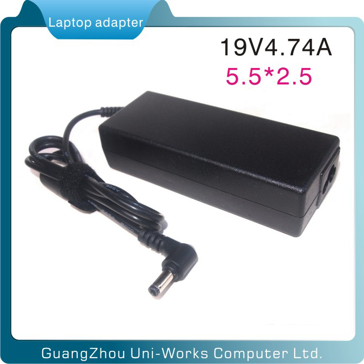 for Lenovo 19V4.74A 90W 5.5*2.5mm <strong>adapter</strong> for laptop