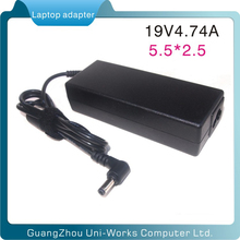 for Lenovo 19V4.74A 90W 5.5*2.5mm adapter for laptop