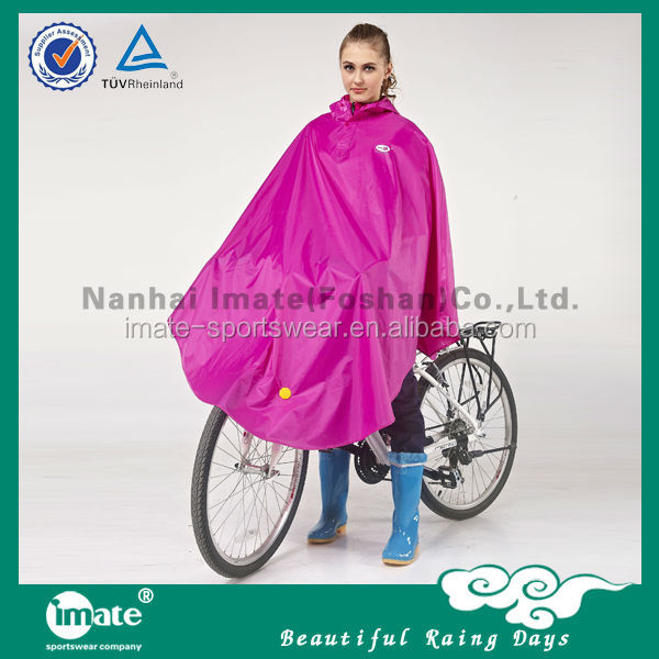 Wholesale pvc bicycle rain poncho