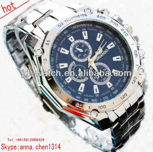 2013 new style geneva swiss made automatic watch stainless steel