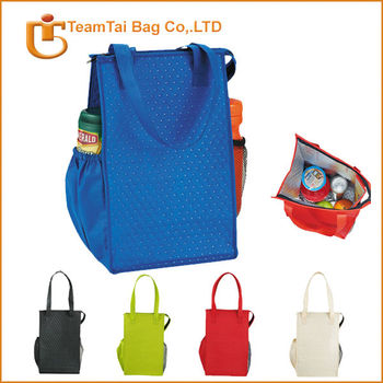 promotional blue cooler bags