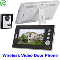 7 inch monitor 2.4GHz digital wireless video door phone for apartments