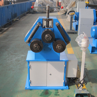 manual pipe hydraulic roll steel pipe bending machine