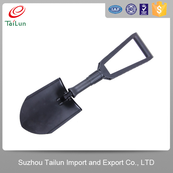telescopic handle garden tools flat foldable shovel