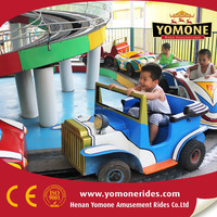 Attractions park equipment kiddie mini shuttle bus/ amusement ride for kids