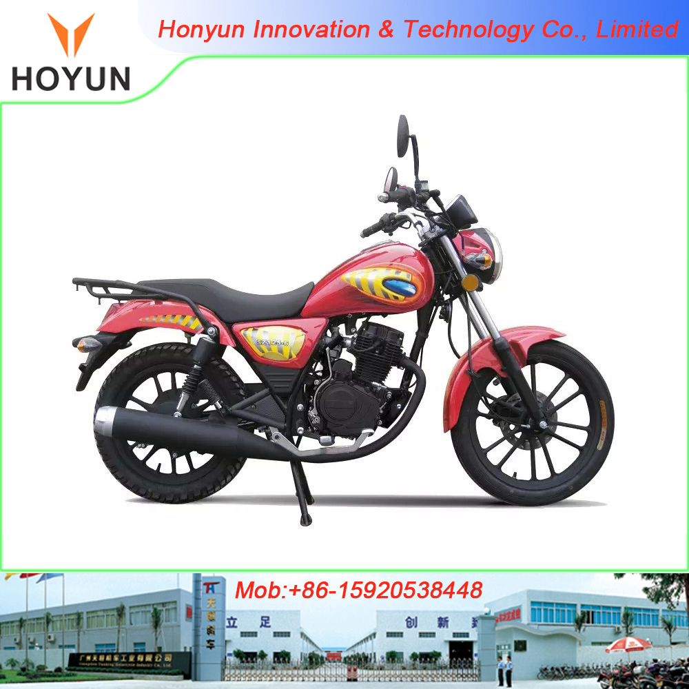 New Version Hot sale in America and Africa Qingqi Suzuki Haojiang Haojue GN125 HJ125-8 motorcycles