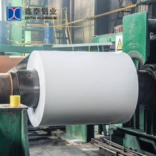 Professinal manufacturer prices pe pvdf color coated painted aluminum coil