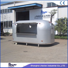 JX-BT400A High Quality fast snack food trailer Mobile food kiosk for sale Electric crepe waffle carts