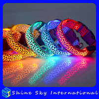 Best Selling Light Up Dog Collar Flashing Collar Light