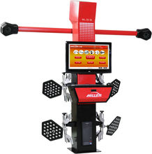 MILLER tire shop cheap price car wheel alignment ,32''LCD,good wooden package,18 month warranty(ML-3D-III)