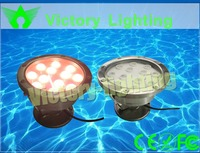 China manufacturer Bridgelux Chip 3W-36W 304 stainless steel IP68 LED swimming pool light with 3 years warranty