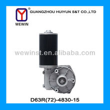 D63R(72)-4830-15 48v working of dc geared motor