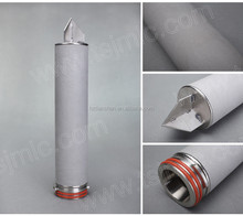 Customized titanium powder sintered diesel fuel filter for oil purification
