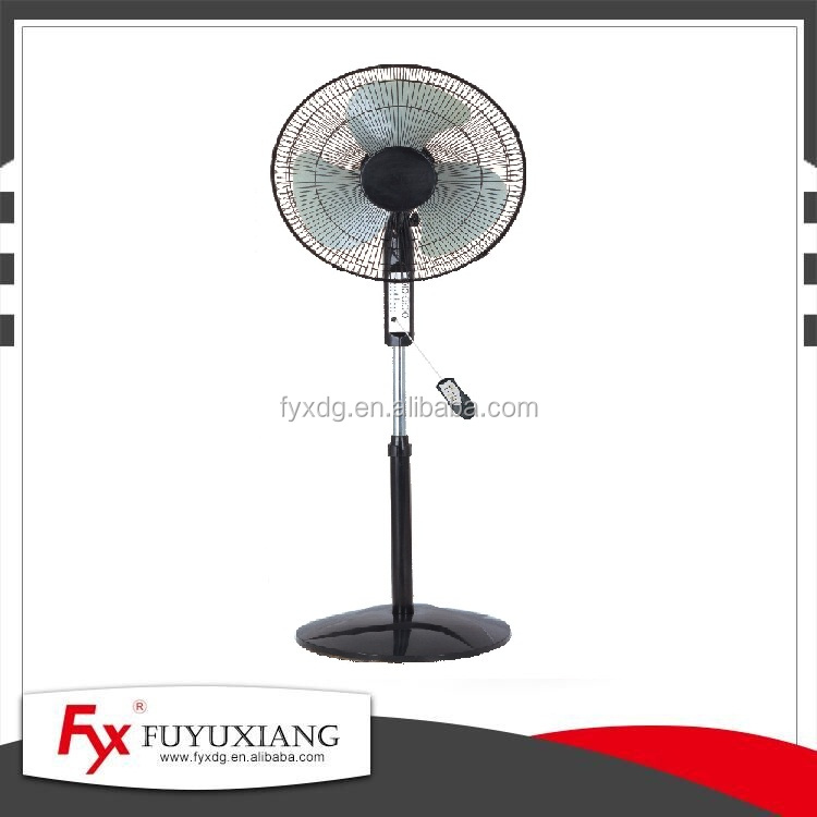 Air cooler big winding pedestal fan with remote