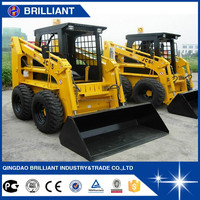 Construction Machinery Compact Garden Loader Machine 4WD Skid Steer Loader